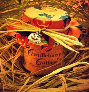 Candleberry Cottage ~ Halloween Pumpkin souffle scented candle