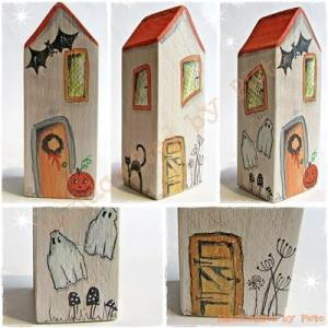 Handcrafted by Picto ~ Halloween House