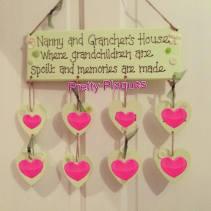 2. Pretty Plaques by Jess grandparents plaque