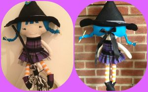 Dolls and Dinosaurs ~ Witch Doll