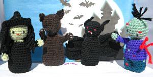 Itchy Crochet ~ Halloween crochet Pattern
