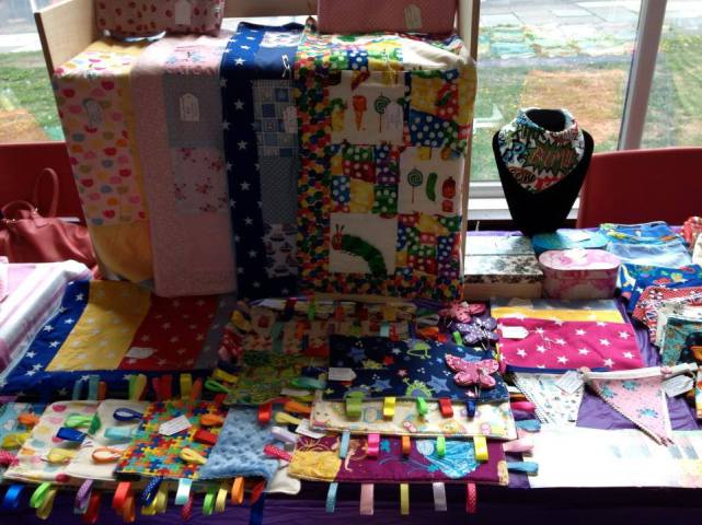 3. The Handmade Boutique stall layout