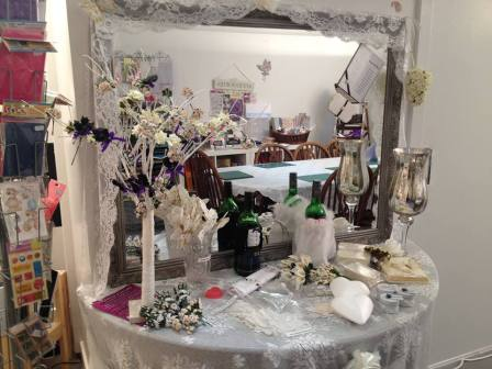 4. Buntys Celebrations chocolate diy wedding display kits