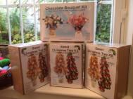 4. Buntys Celebrations chocolate xmas tree kits