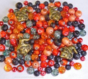 Somerset Beads ~ Halloween Bead Bundle