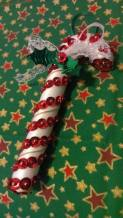 4. True Moon crafts candy canes