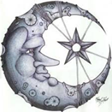 4. True Moon crafts logo