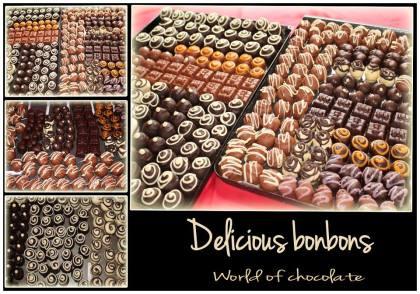 4. World of Chocolate chocolate bonbons