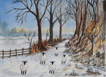 5. Bavaro Art sheep walking