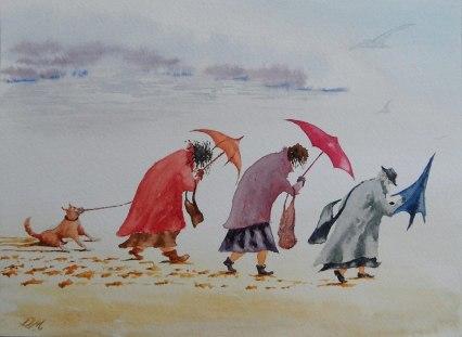 5. Bavaro Art walking on the beach