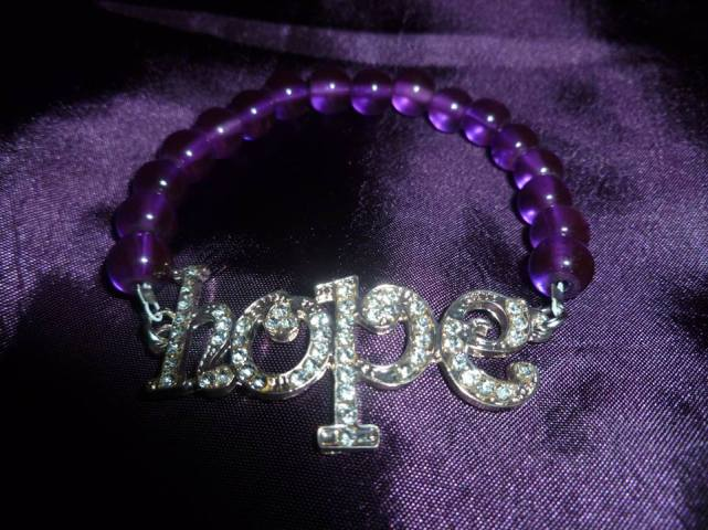 5. Sprinkles and Sparkles hope bracelet