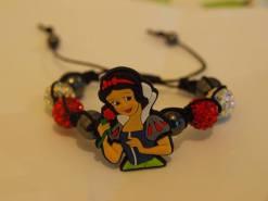 7. CoCo Creations Snow White Shamballa bracelet