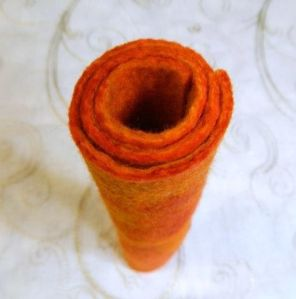 Penny Jane Designs ~ Handmade orange felt