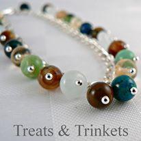 9. Treats & Trinkets sterling silver tinkerbell