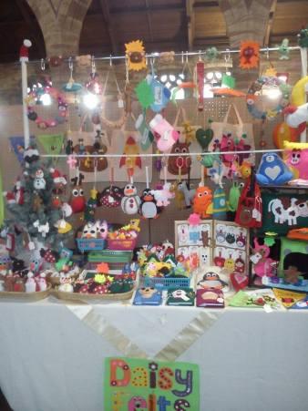 1. DAISY FELTS stall photo