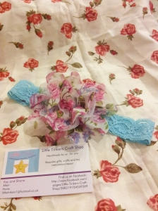 10. LITTLE TINKERS CRAFT SHOP Item 3 Vintage Flower Headband