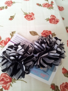 10. LITTLE TINKERS CRAFT SHOP Item 4 Zebra print flowers