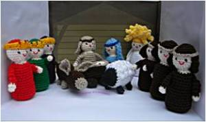 2. ITCHY CROCHET ~ Item 2 Nativity