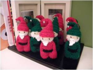 2. ITCHY CROCHET ~ Item 3 Elves