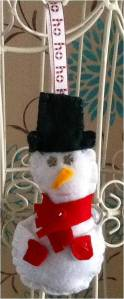 3. JOJO'S MAKES & BAKES Item 1 Snowman