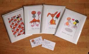 6. QUACK ANIMAL ART cards