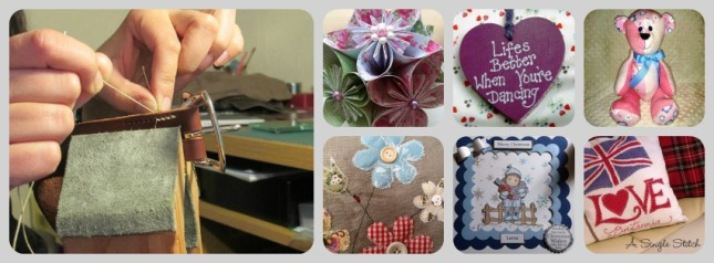 8. Crafters in the Scottish Borders Page mixed crafts