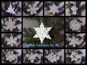 9. QUILLED CREATIONS BY ME Item 2 Snowflakes