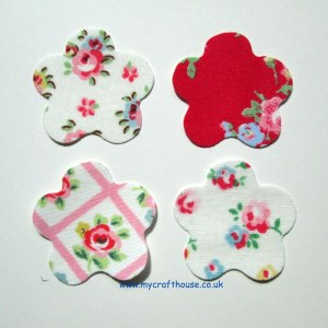My Craft House Cath Kidston die cut flowers